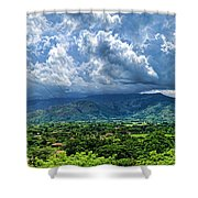 Aguirre Valley Shower Curtain