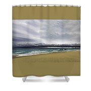 Ahead Of Sandra Shower Curtain