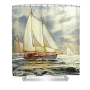 Ahead Of The Storm Shower Curtain