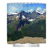 Ahern Goat Trail Shower Curtain