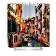 Ahh Venezia Shower Curtain