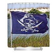 Ahoy Ye Matey Shower Curtain