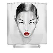 Aidoru Shower Curtain