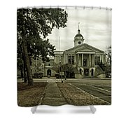 Aiken County Courthouse Shower Curtain