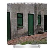 Aiken Doors Shower Curtain