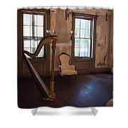 Aiken Rhett House Living Room Shower Curtain