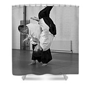 Aikido Up And Down Shower Curtain