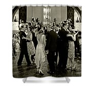 Aileen Pringle Lew Cody Adam And Evil 1927 Shower Curtain