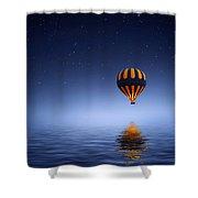 Air Ballon Shower Curtain