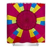 Air Balloon 1640 Shower Curtain