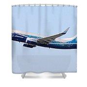 Air Berlin B737 700 Dreamliner D Abbn Shower Curtain