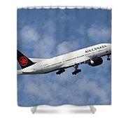 Air Canada Boeing 777-233 Shower Curtain