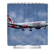 Air Canada Rouge Boeing 767-333 1 Shower Curtain