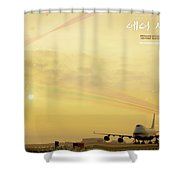 Air City Shower Curtain