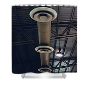Air Conditioner Shower Curtain