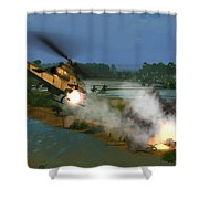 Air Conflicts Vietnam Front Shower Curtain