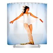 Air Dancer Shower Curtain