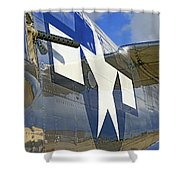 Air Force Shower Curtain