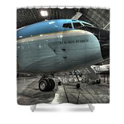 Air Force One - Boeing Vc-137c Sam 26000 Shower Curtain