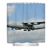Air Force Plane Shower Curtain