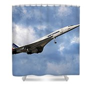 Air France Concorde 118 Shower Curtain