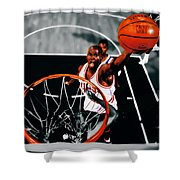 Air Jordan Above The Rim Shower Curtain