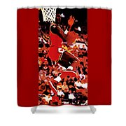 Air Jordan Cradle Dunk Shower Curtain