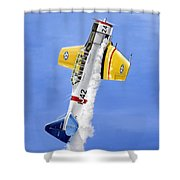 Air Show Shower Curtain by Marc Stewart
