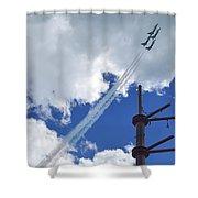 Air Show Shower Curtain