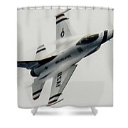 Air Speed Shower Curtain