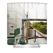 Air Stream Four Shower Curtain