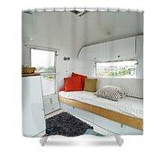 Air Stream Two Shower Curtain