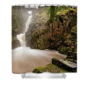 Aira Force High Water Level Shower Curtain