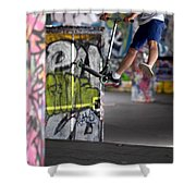 Airborne At Southbank Shower Curtain