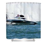 Airborne Shower Curtain