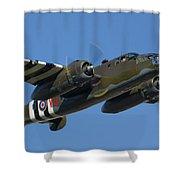 Aircraft Shower Curtain