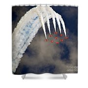 Aircrafts Shower Curtain