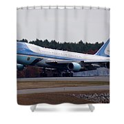 Airforce One Shower Curtain