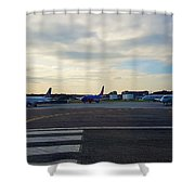 Airline Shower Curtain