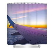 Airplane Window Shower Curtain