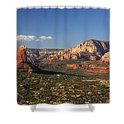 Airport Mesa Overlook At Sunset Shower Curtain