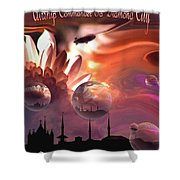 Airship Commander... Shower Curtain