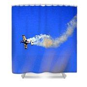 Airshow 8 Photograph Shower Curtain
