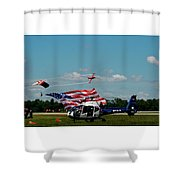 Airshow Opening Shower Curtain