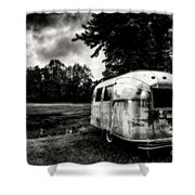 Airstream Reflection Shower Curtain