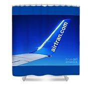 Collectible Airtran Wing Shower Curtain