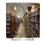 Aisles Of Books Shower Curtain