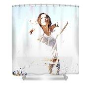 AIX Shower Curtain