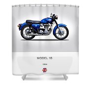 Ajs Model 18 1964 Shower Curtain