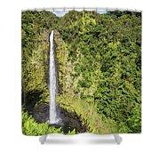 Akaka Falls, Hawaii Shower Curtain